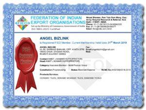 FIEO Certificate 2019