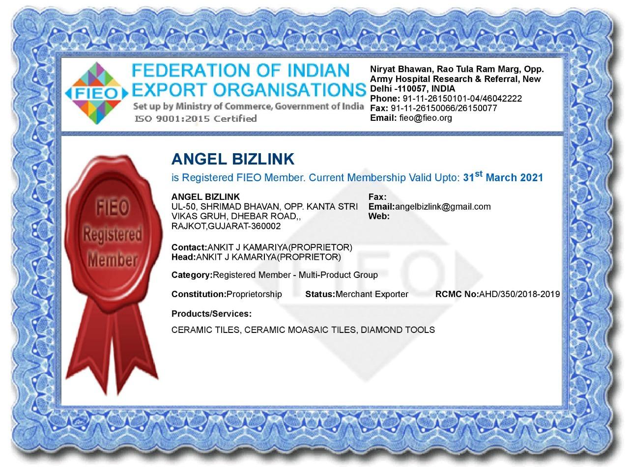 FIEO Certificate 2021